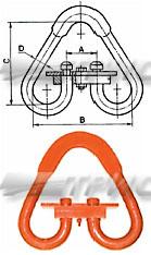 Звено треугольное разъемное РТ-3 (схема)